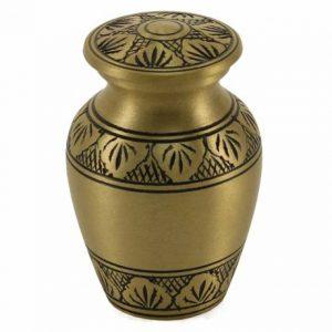 Classic Keepsake Urn - Athena Bronze