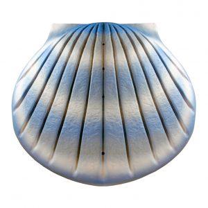 AUPSA01 Shell Urn Aqua