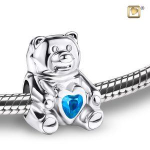 Blue Bear Bead
