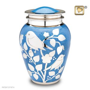 Blessing Urns Large Silver