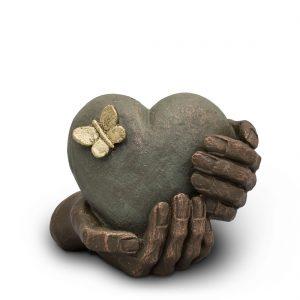 AUKGK065 Heartache Ceramic Funeral Urns by Geert Kunen