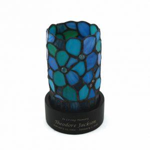 C631K Blue Floral Lamp Keepsake