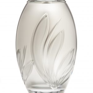 Crystal Bloom Silver Urn