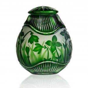 Daffodils Emerald Green Crystal