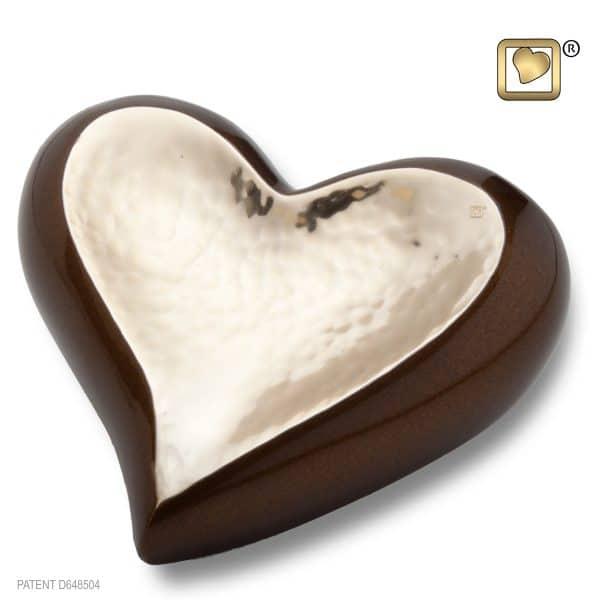 Gold Bronze Heart
