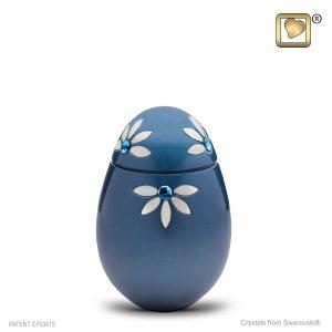 Azure Small Urn