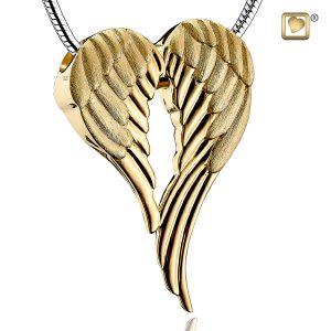 Angel Wings Gold Pendant