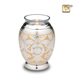 Ornate Floral Tealight