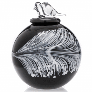 The Feather Large Urn