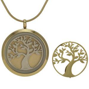 Bronze Tree Pendant